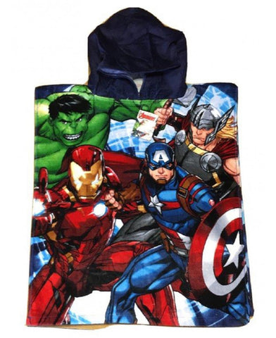 Marvel Avengers Group Hooded Towel Poncho