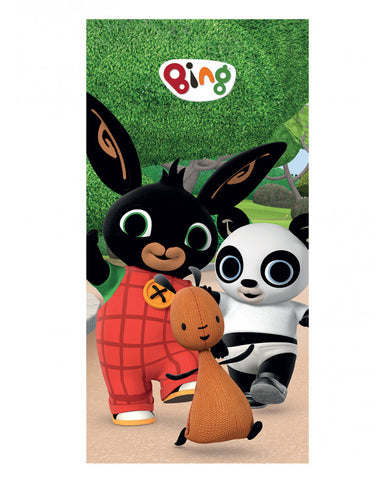 Bing Bunny Friends Beach Towel
