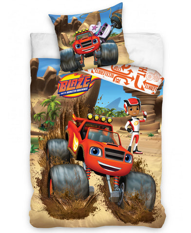 Blaze and the Monster Machines Single Duvet Cover Set