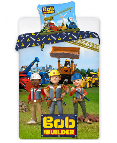 Bob the Builder Team Single Duvet Cover Set