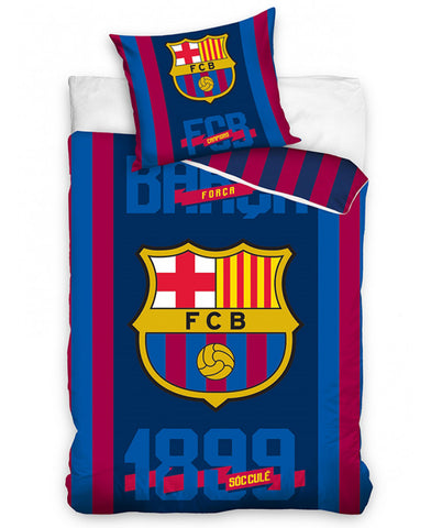 FC Barcelona 1899 Single Duvet Cover Set