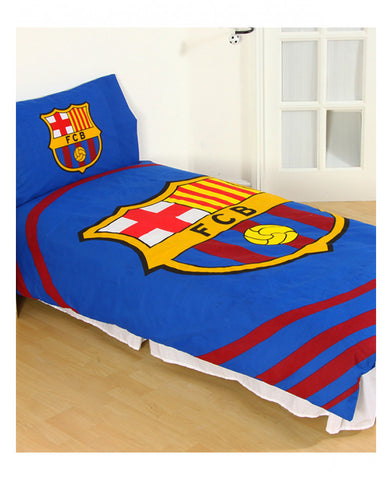 FC Barcelona Pulse Single Duvet Cover Set