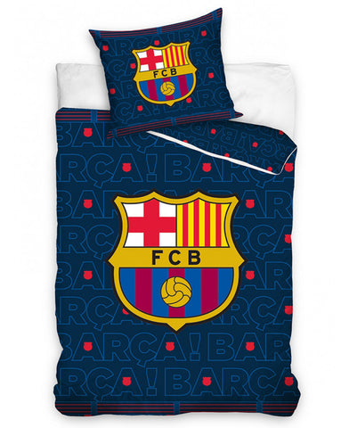 FC Barcelona Barça Single Duvet Cover Set