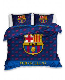FC Barcelona Barca Double Cotton Duvet Cover Set