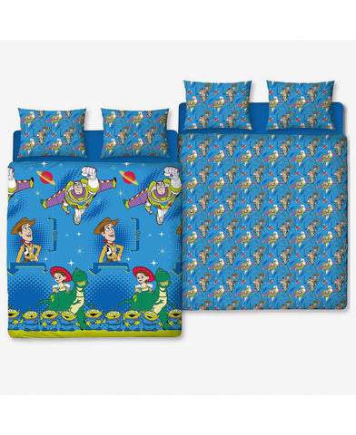 *NEW* Toy Story Friends Double Duvet Cover and Pillowcase Set