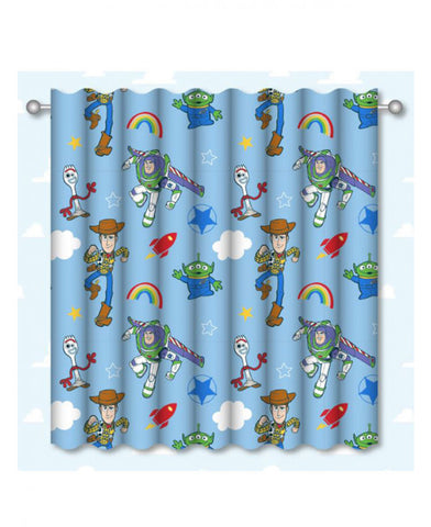 Toy Story 4 Roar Curtains 66in wide (168cm) x 54in drop (137cm)