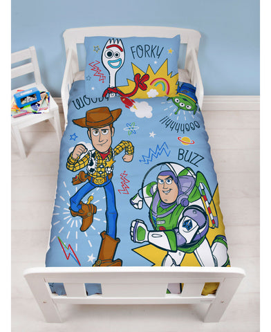 Toy Story 4 Roar Junior Duvet Cover and Pillowcase Set