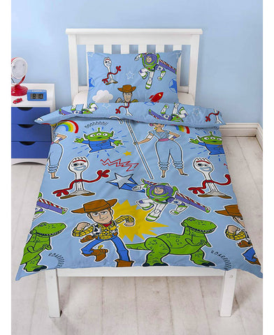 Toy Story 4 Roar Single Duvet Cover Set