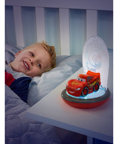 *NEW* Disney Cars Lightning McQueen 3 in 1 Magic Go Glow Night Light