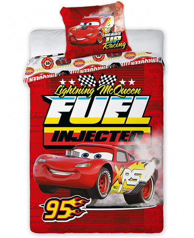Disney Cars Fuel Injected Single Duvet Cover Set
