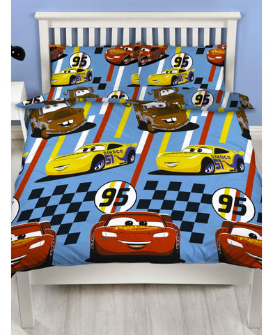 Disney Cars  Double/Queen Duvet Cover Set