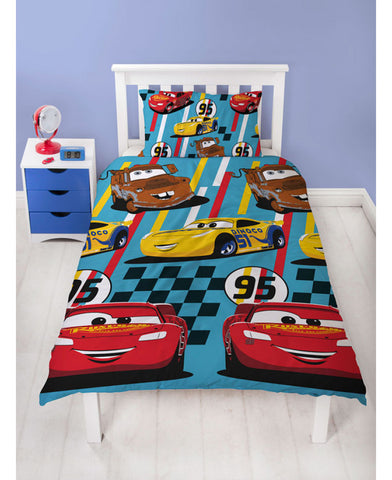 Disney Cars Single Duvet Cover Set