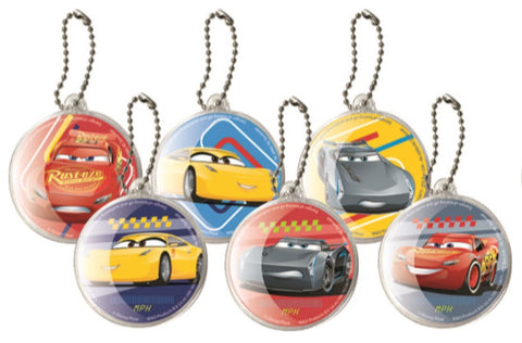 Disney Cars Key Chain Set (6 Pk)