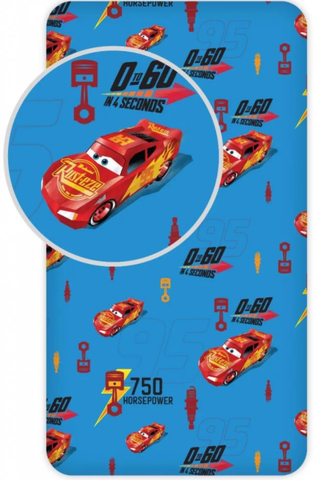 Disney Cars Single Fitted Sheet