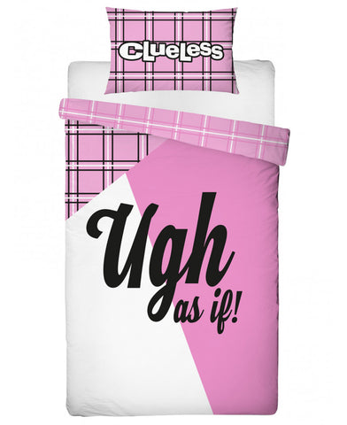 Clueless Icon Single Duvet Cover and Pillowcase Set