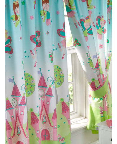 Princess Is Sleeping Lined Curtains 66in wide x 72in drop (168cm x 183cm)