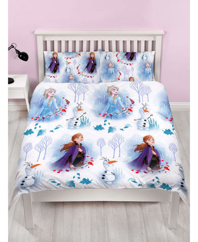 Disney Frozen 2 Elements Double/Queen Reversible Duvet Cover Set