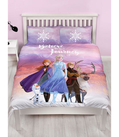 Disney Frozen 2 Journey Double/Queen Duvet Cover Set