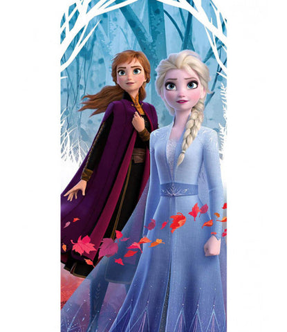 Disney Frozen 2 Leaves Beach Towel