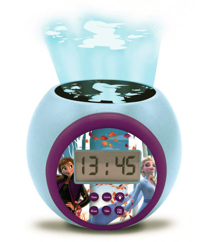 Disney Frozen 2 Projector Alarm Clock