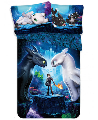 How to Train Your Dragon Single Cotton Duvet Cover