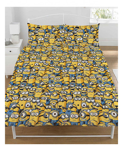 Despicable Me Minions Army Double/Queen Duvet Cover Set