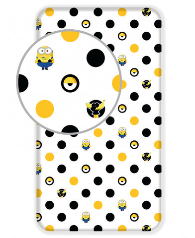 Despicable Me Minions Single Fitted Sheet