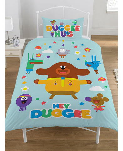 Hey Duggee Hello Squirrels Single Duvet Cover Set