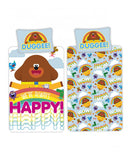 Hey Duggee Happy Single Duvet Cover and Pillowcase Set
