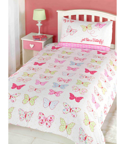Fly Up High Butterfly Double/Queen Duvet Cover Set