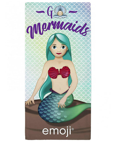 Emoji Mermaid Towel