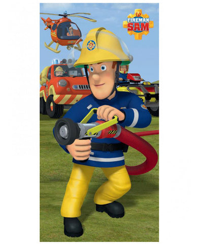 Fireman Sam Extinguish Beach Towel