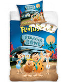 Flintstones Bedrock Bowl Single Cotton Duvet Cover Set
