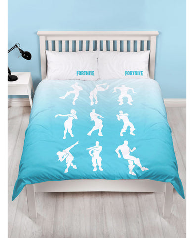 *NEW* Official Fortnite Double/Queen Duvet Cover Battle Royale Shuffle Set