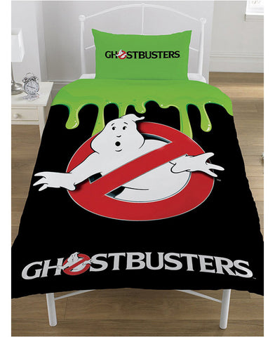 Ghostbusters Glow in the Dark Single Duvet Cover and Pillowcase Set