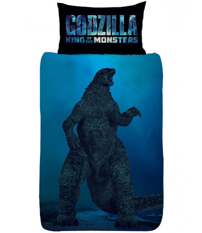 Godzilla Vs Ghidorah Single Duvet Cover Set