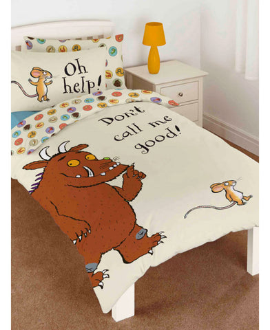 The Gruffalo Don't Call Me Good Single Duvet Cover Set