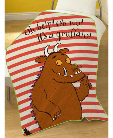 Gruffalo Oh Help Fleece Blanket