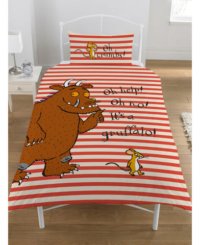 The Gruffalo Oh Help Single Duvet Cover Set