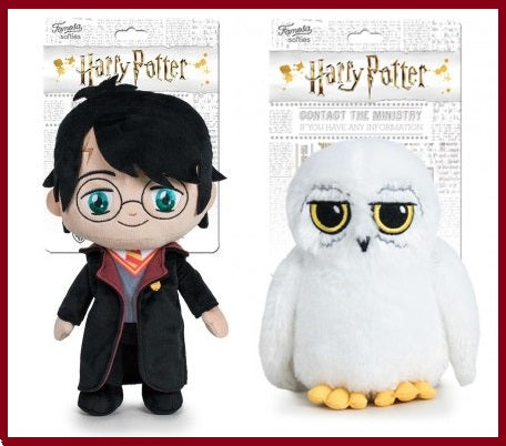 Official Harry Potter and Hedwig Plush Toy Set 30cm