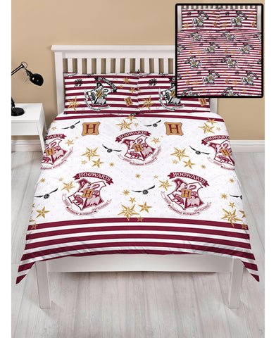 *NEW* Harry Potter Double/Queen Duvet Cover and Pillowcase Set