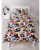 *NEW* Harry Potter Charm Single Duvet Cover and Pillowcase Set