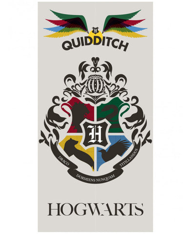 Harry Potter Quidditch Beach Towel