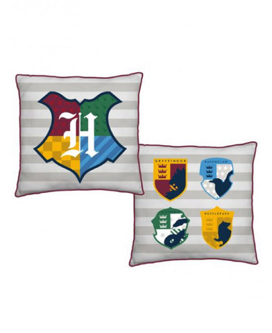 Harry Potter Hogwarts Reversible Square Cushion