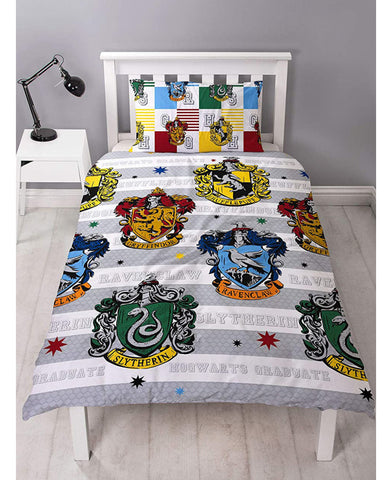 Harry Potter Quarters Single Duvet Cover Set