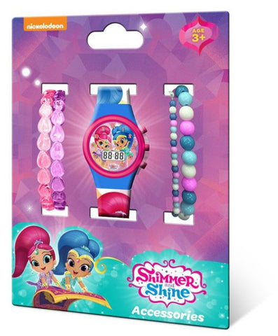 Shimmer and Shine wrist watch and bracelets