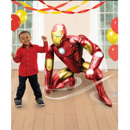 Air Walker Iron ManWorld Foil Balloon