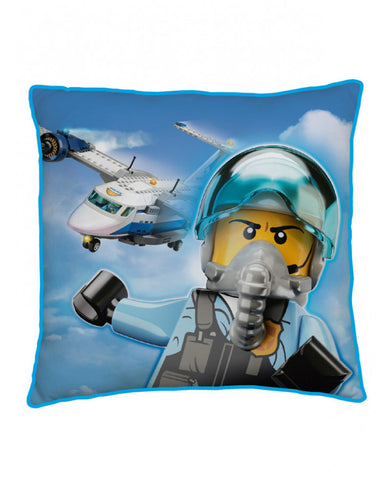 Lego City On The Run Square Cushion
