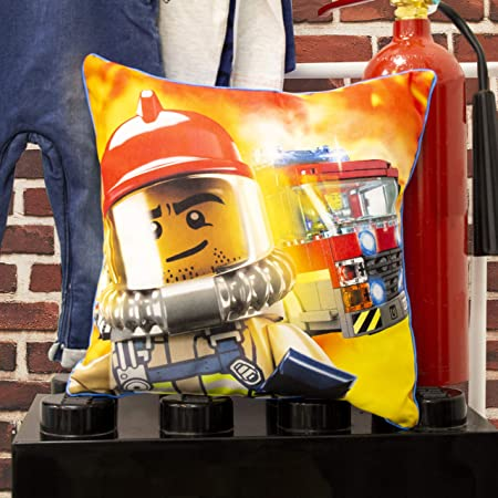 Lego City On The Run Reversible Square Cushion