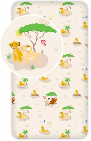 Lion King Single Fitted Sheet
